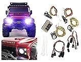 LED Licht Kit für Traxxas TRX4 Straßenleuchte Kit TRAXXAS LAND ROVER DEFENDER Fahrlicht TRX-4