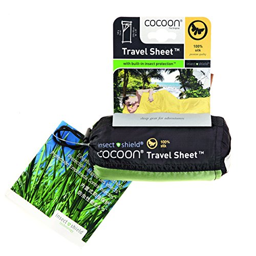 Cocoon Anti-Mücken Seidenschlafsack Insect Shield Line Travelsheet - Silk