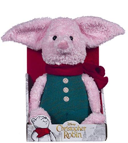 Disney Christopher Robin Collection Winnie The Pooh Piglet - Peluche (25 cm)
