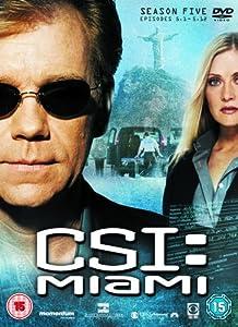 C.S.I: Crime Scene Investigation - Miami - Season 5 Part 1 [DVD] [2007]