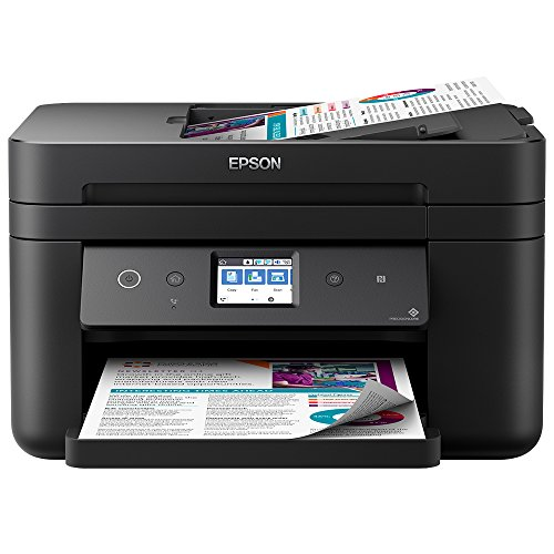 Epson Workforce WF-2860DWF - Impresora Color, Negro Mate