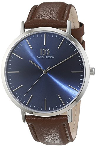 Danish Design Unisex Analogue Watch with Blue Dial Analogue Display - 3314509