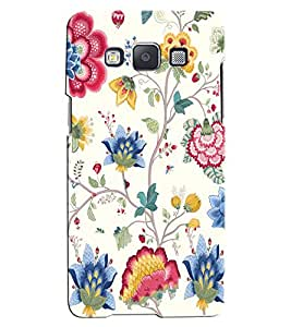 Citydreamz Floral Design Hard Polycarbonate Designer Back Case Cover For Samsung Galaxy A8