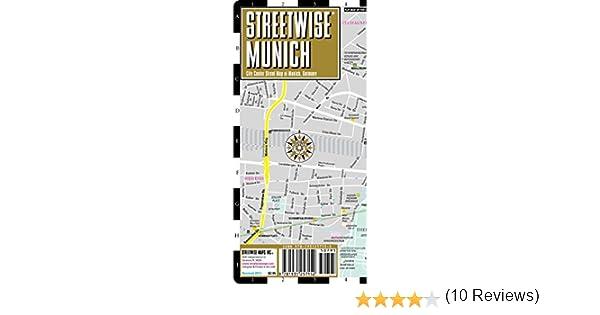 Streetwise Munich Map Laminated City Street Map Of Munich - Laminated folding us map