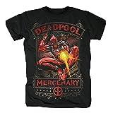 Deadpool Mercenary T-Shirt Noir M
