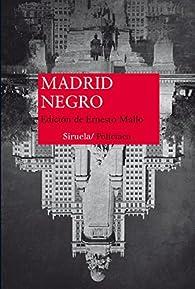 Madrid Negro par VV AA