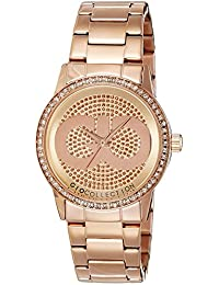Gio Collection Analog Rose Gold Dial Women's Watch - G2003-33