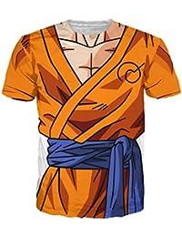 Noorhero Camiseta de Hombre - Dragon Ball Armor Goku Super