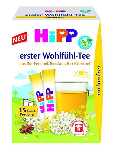 Hipp Erster Wohlfühl-Tee zuckerfrei, 6er Pack (6 x 32 g)