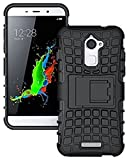 #7: Defender Tough Hybrid/ Armour Shockproof Hard PC with Kick Stand Rugged Back Case Cover for Coolpad Note 5
