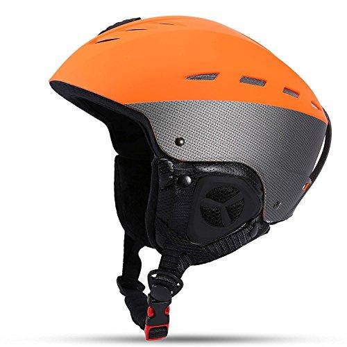 Asvert Casco de Esquí Térmico Unisex para Hombre y Mujer ABS+EPS+Ter