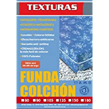 TEXTURAS HOME - Funda de colchón CLASSIC con cremallera en L ( Varios tamaños disponibles ) (90_x_190_cm)
