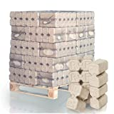 PALIGO RUF Holzbriketts Duplex Hartholz Eiche Kamin Ofen Brenn Holz Heiz Brikett 10kg x 30 Gebinde 300kg / 1 Palette HEIZFUXX®