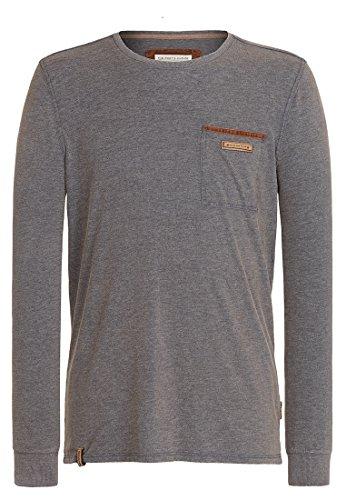 Herren Langarmshirt Naketano Suppenkasper Langen V T-Shirt