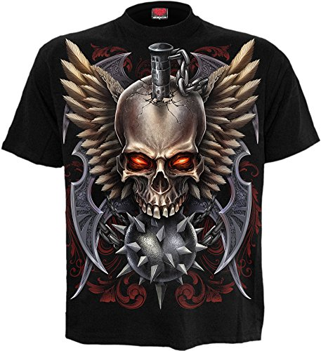 Spiral -  T-shirt - Uomo nero Large