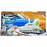 Nerf Super Soaker Toy - Barrage Water Blaster - Huge Capacity Gun