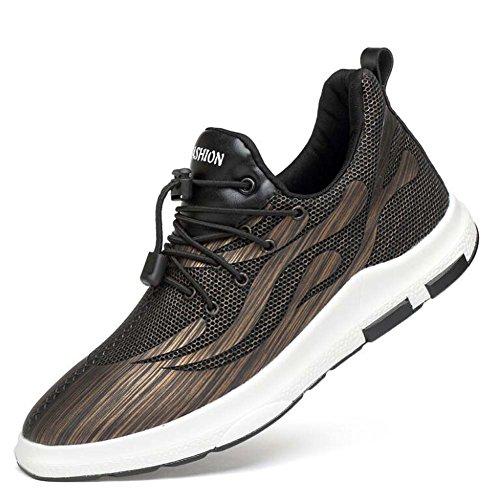 Men Pump Chaussures de sport décontractées Chaussures de course à bout rond à lacets Léger respirant fond doux Snekers Basketball Shoes Eu Taille 38-44