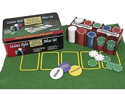 Ak Sport - 0603017 - Jeu De Cartes - Texas Hold'em Poker Set