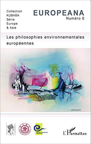 Les philosophies environnementales européennes