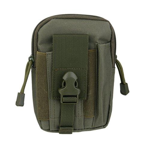 1x Taktische Bauchtasche Guerteltasche Huefttasche Tasche Bag Beutel fuer Sport Armee Gr¨¹n