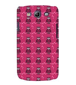 EPICCASE Pink Owls Mobile Back Case Cover For Samsung Galaxy S3 Neo (Designer Case)