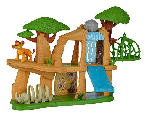 """Simba - 109318728 - La Garde du Roi Lion - Ensemble de Figurine """"La Garde du Roi Lion"""" - Terre Sacrée + Accessoires"""