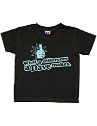 Balcony Shirts 'What A Difference A Dave Makes' Kids T Shirt