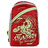 #10: Lutyens Polyester Red Gray School Bag (23 Litre) (Lutyens_265)