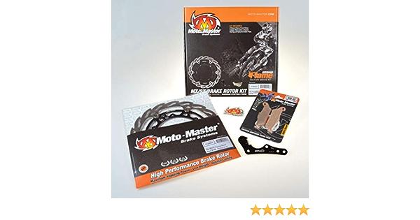 Motomaster 310022 Moto Master Kit Oversize 270 Mm Adapter Pads Front Ktm 09 18 450 E Auto