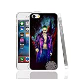 Ch le Joker Jared Leto Suicide Squad iPhone 5 C Coque Super-vilain Superhero Fantasy Science Fiction film Coque Harley Quinn Margot Robbie DVD Movie Bande dessinée Super Hero Batman, plastique rigide