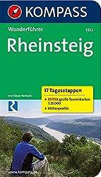 Rheinsteig - 17 Tagesetappen: Wanderführer mit Tourenkarten und Höhenprofilen (KOMPASS-Wanderführer)