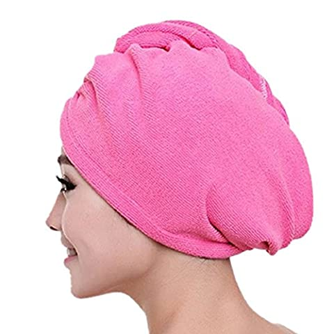 Amison Rapide Sèche serviette microfibre serviette cheveux magique Turban séchage