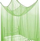 Betthimmel Baldachin Bettdekoration in Neon Grün