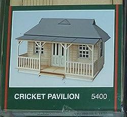 Peco Model Scene 00 Gauge Cricket Pavillion