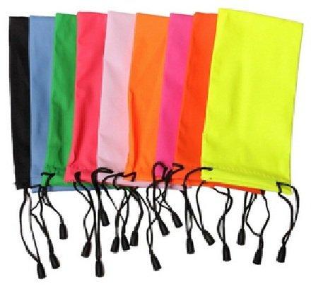 lubier Tasche Easy-Nutzung Schützen Brille Sonnenbrille Leder Wasserdicht lebendigen Farben (10Teile)