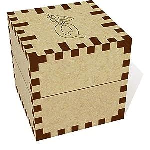 Azeeda Piccolo (39mm) 'Q per quaglia' Squillare Scatola / Scatola dei Gioielli (JB00048601)