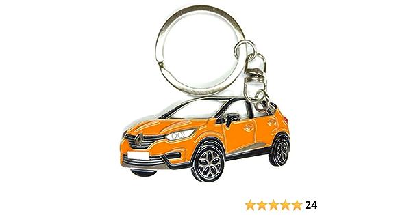 Captur Keyring Schlüsselanhänger Fanartikel Schlüssel Anhänger Keychain Accessories Orange Bürobedarf Schreibwaren