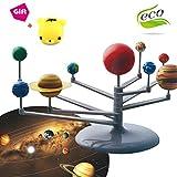 Morbuy Kinder Sonnensystem Modell, Lernspielzeug Pädagogische Astronomical Wissenschaft Lernen Pädagogische DIY Spielzeug Geschenk