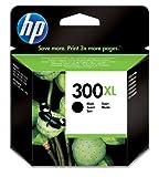HP 300XL Schwarz Original Druckerpatrone mit hoher Reichweite für HP Deskjet D1660, D2560, D2660, D5560, F2480, F4224, F4280, F4580; HP ENVY 110, 114, 120, HP Photosmart C4680, C4780