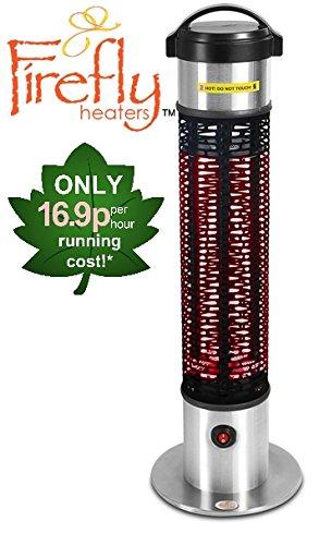 Firefly 1.200 Watt Infrarot-Heizstrahler (Goldröhre) Terrassenheizung, Tischheizung
