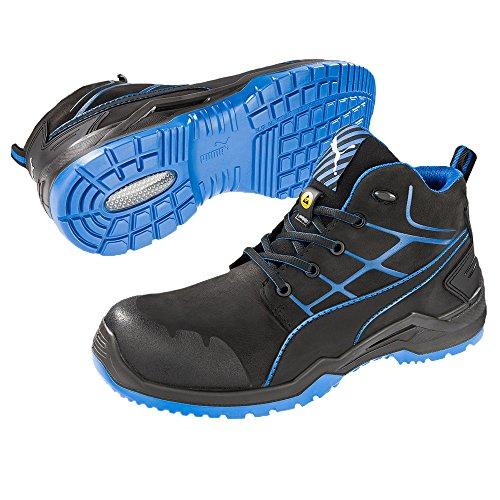 Puma, Chaussures De Sécurité Pour Hommes Schwarz, Blau