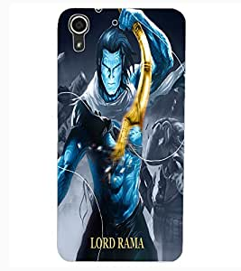 ColourCraft Lord Rama Design Back Case Cover for HTC DESIRE 626G+