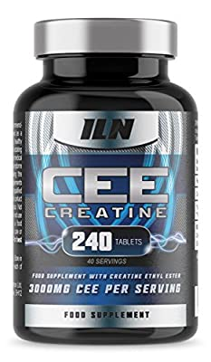 Iron Labs Nutrition, CEE Creatine - Creatine Ethyl Ester 3,000mg x 40 Servings - 240 Tablets by Iron Labs Nutrition