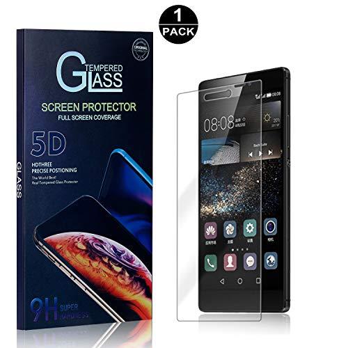 Bear Village® Huawei P8 Displayschutzfolie, 9H Hart Schutzfilm aus Gehärtetem Glas, Anti-Kratzen Displayschutz Schutzfolie für Huawei P8, 1 Stück