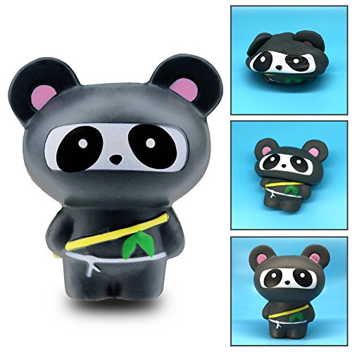 Squishy Panda Super Jumbo Scented Slow Rising Rare Fun Toy (Ninja Panda) (Kawaii Ninja)