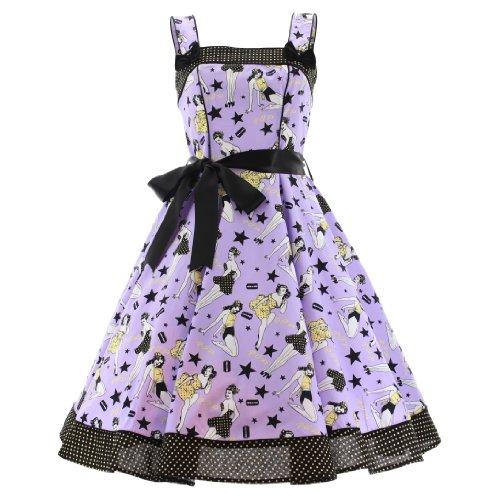 IE DRESS (XXL, Violett) ()