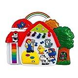 Simba Play & Learn 104012467 Baby Play and Learn - Große Tierfarm