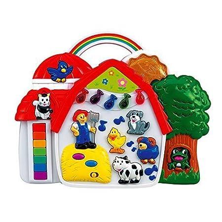 Simba 104012467 – Play & Learn – Große Tierfarm