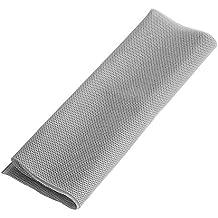 Zerone Parrilla para altavoz (140 x 50 cm, tela antipolvo, protección de malla