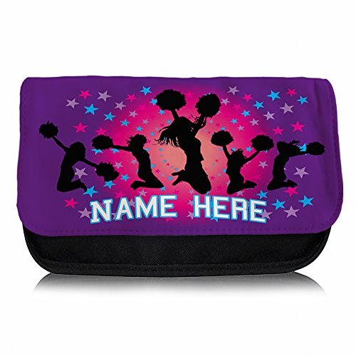 personalised-cheer-leading-gb02-school-pencil-case-make-up-bag-games-console-ds-carrier